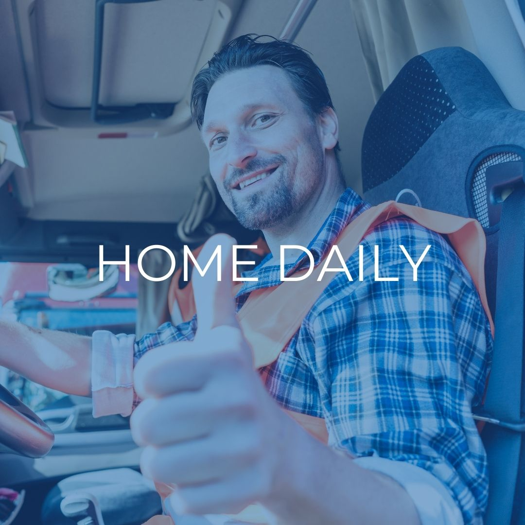 valley express drivers home daily